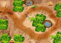 Tower-defense-spiel-with-dinosaurs