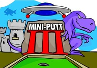 Mini-golf-igra-s-dinosaura
